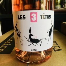Domaine Les 3 Têtus - Les 3 Têtus [Rosé]